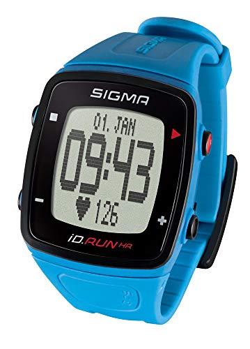 SIGMA SPORT Pulsuhr iD.Run HR Pacific Blue, GPS-Laufuhr, Handgelenk-Pulsmessung, Activity Tracker, Blau