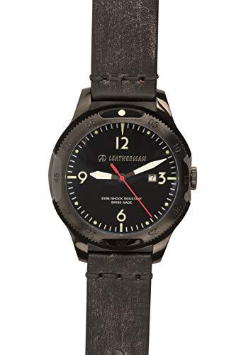 LEATHERMAN Black Erwachsene Unisex Armbanduhr Limited Edition