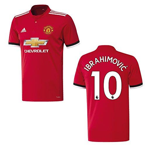 Manchester United Trikot Home Kinder 2018 - Ibrahimovic 10, Größe:176