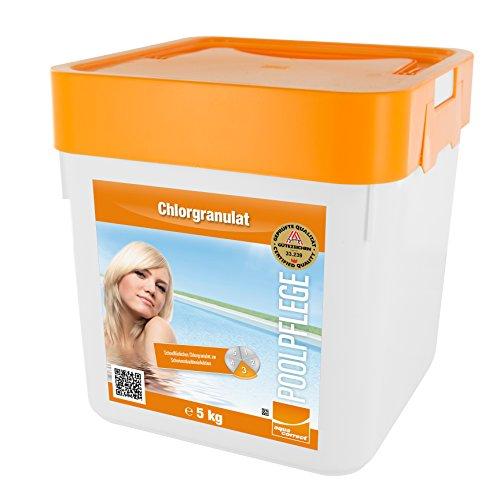 Steinbach Poolpflege Chlorgranulat, 5 kg, Chlorprodukt, 0751205TD02