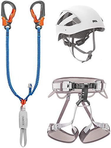 PETZL Unisex– Erwachsene Kit Klettersteig Eashook Zubehör Für Klettern, Mehrfarbig, Uni