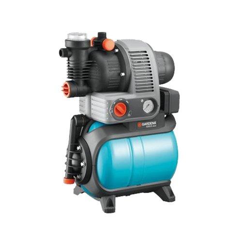 Gardena Hauswasserwerk 'Comfort - 4000/5 eco', blau / schwarz / orange, 30 x 30 x 30 cm, 1754-20