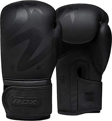 RDX Boxhandschuhe für Muay Thai und Training | Convex Skin Leder Punchinghandschuhe für Sparring, Kickboxen,...