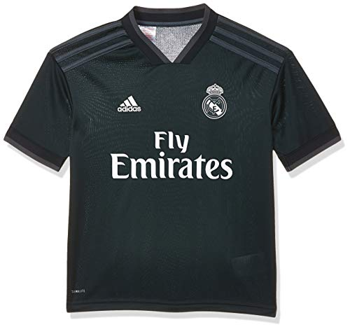adidas Kinder Trikot 18/19 Real Madrid Away, tech Onix/Bold Onix/White, 152, CG0570