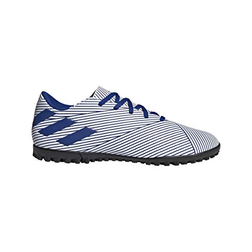 adidas Unisex Nemeziz 19.3 Tf J Fußballschuh, Blau FTWR White Team Royal Blue Core Black, Large EU