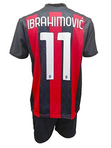 3R SPORT SRL Milan Zlatan Ibrahimovic 11 genehmigte Nachbildung für Kinder (Größen 2 4 6 8 10 12)...