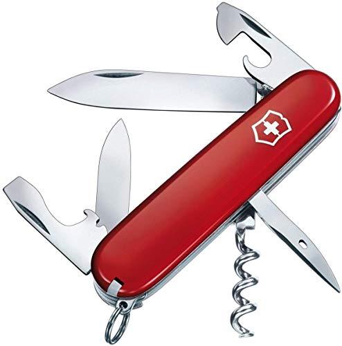 Victorinox Unisex– Erwachsene Taschenmesser Spartan (12 Funktionen, grosse, kleine Klinge, Dosenöffner,...