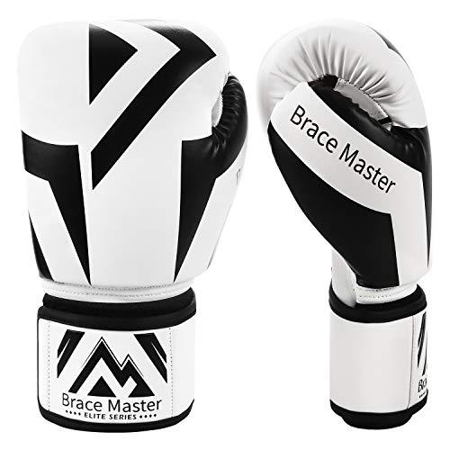 Brace Master Boxhandschuhe Serie DG 2.0 Design für präzises und schnelles Stanzen von Sparringhandschuhen...