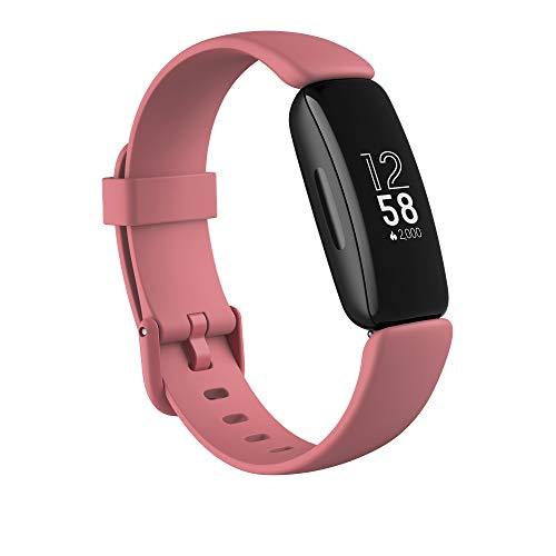 Fitbit Inspire 2 Gesundheits- & Fitness-Tracker mit einer 1-Jahres-Testversion Fitbit Premium,...