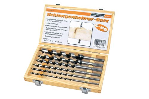 Brüder Mannesmann Werkzeug M54620 Holzbohrersatz 6-tlg