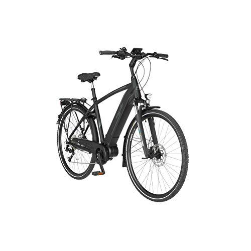 FISCHER Herren - Trekking E-Bike VIATOR 4.0i, Elektrofahrrad, schwarz matt, 28 Zoll, RH 50 cm, Mittelmotor 50...