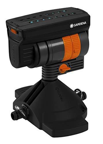 GARDENA Micro-Drip-System Viereckregner OS 90: Regner zur wassersparenden Bewässerung rechteckiger Flächen,...