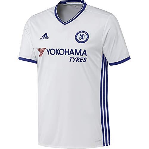adidas Herren FC Trikot, White/Chelsea Blue, L