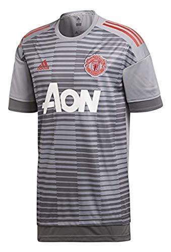 adidas Herren Manchester United Heim Pre-Match Shirt, Grefiv, S