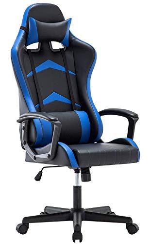 IntimaTe WM Heart Gaming Stuhl, Bürostuhl mit verstellbarem Kopfkissen und Lendenkissen, Ergonomischer...