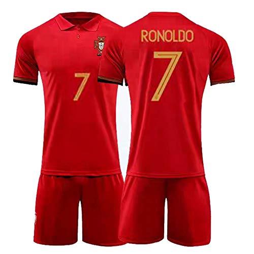 CBVB Fußballtrikot, Silva 9# 7#, Portugal Fußballuniformen, 2020-2021 (Heim & Auswärts), Erwachsene,...