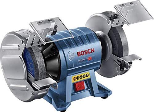 Bosch Professional Doppelschleifer GBG 60-20 (600 Watt, Schleifscheiben-Ø 200 mm, Leerlaufdrehzahl 3.600...
