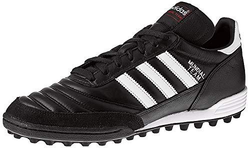 adidas Unisex-Erwachsene Mundial Team Fußballschuhe, Schwarz (Black/Running White Ftw/Red), 41 1/3 EU