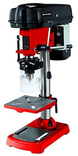 Einhell Säulenbohrmaschine TC-BD 350 (350 W, 580 - 2650 U/Min., 5-stufig anpassbare Drehzahl, dreiarmiges...