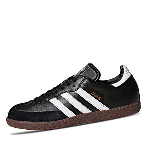 adidas Herren Samba Laufschuh, Schwarz White, 42 2/3 EU