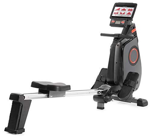 SportPlus Ruderergometer für zuhause, App-Steuerung, klappbar, leises Magnetbremssystem, ca. 8kg...
