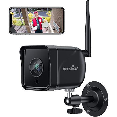 Wansview Überwachungskamera Aussen, WLAN IP Kamera 1080P Outdoor WiFi mit IP66 wasserdichte,...