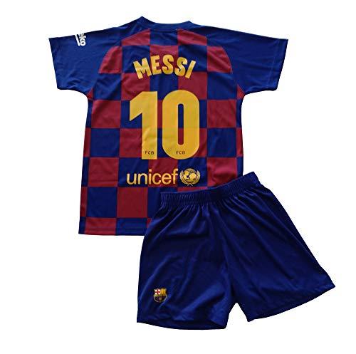 FCB Trikot und Hose, Erste Mannschaft, für Kinder, Messi vom FC Barcelona, offizielles Lizenzprodukt, Saison...