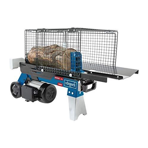 SCHEPPACH HL460 Hydraulikspalter Holzspalter bis 370 mm | 4 Tonnen Spaltkraft 4t | Brennholzspalter 230 V |...