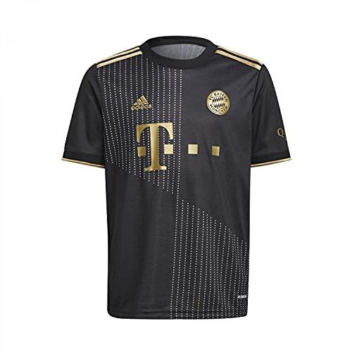 adidas Jungen FCB A JSY Y Unterhemd, Schwarz, 11 Años