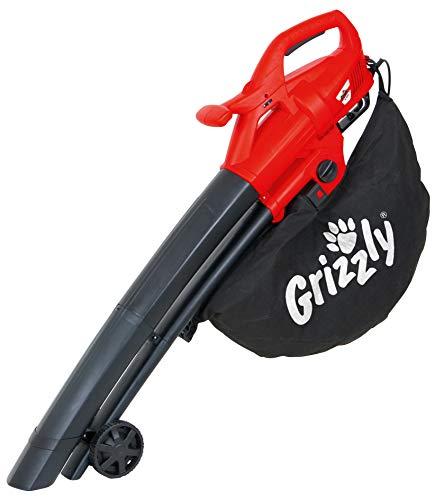 Grizzly Elektro 3in1 Laubsauger Laubbläser Häcksler EL 2800 Blasgeschwindigkeit 270 km/h 2800 Watt große...