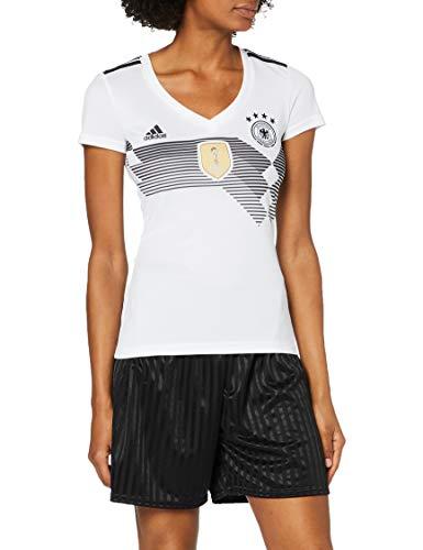 adidas Damen Dfb Home Replica Trikot, weiß(White/Black), M