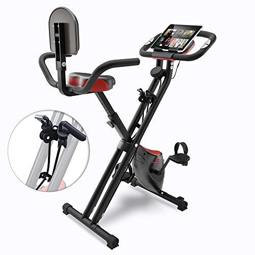 Sportstech Fitness Heimtrainer mit LCD-Konsole & Zugbandsystem | Deutsche Qualitätsmarke | Hometrainer...