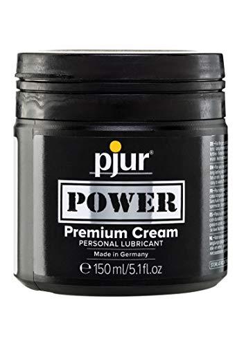 pjur POWER Premium Cream - Fisting Gleitgel mit cremiger Formulierung für extra starken Sex - auch für...