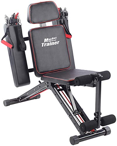 PEARL sports Ganzkörper Trainer: 40in1 Ganzkörper Krafttrainer HT-640 mit 40 Übungen (Kraftstation)