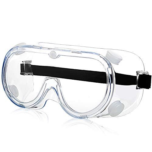 Schutzbrille - Arbeitsschutzbrille Antibeschlag Antispeichel Augenschutzbrille Vollsichtbrille Schutzbrille...