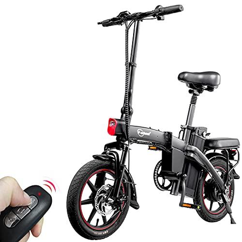 F-wheel A5 Klappbares E-Bike - 14' elektrofahrräder, 25 km/h 350W Motor 48V 7,5Ah Batterie Trip 35-50KM...