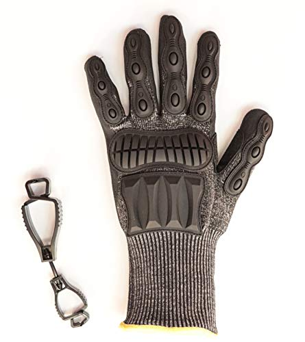 SPEEDSAFE Black N5SP Schutzhandschuh für Profis schützt gegen Schnitt- u. Schlagverletzungen...