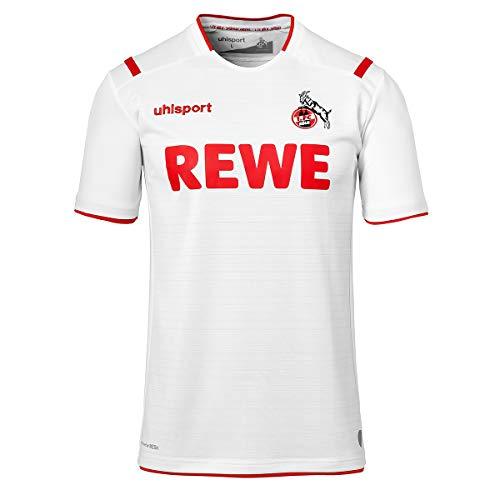 uhlsport Herren Fc Köln 19/20 Ka Home Trikot, weiß, XL