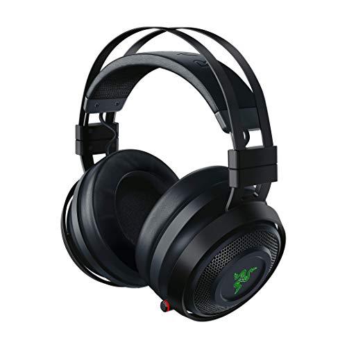 Razer Nari Ultimate – Wireless Gaming Headset (Kabellose HyperSense Kopfhörer, Ohrpolster mit Kältegel,...
