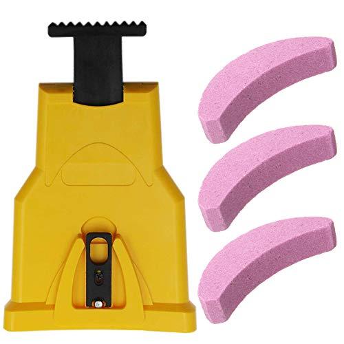Zahnschärfer Kettensägenschärfer für Holzbearbeitung,Kettensäge,Kettenschärfgerät, selbstschärfend,...