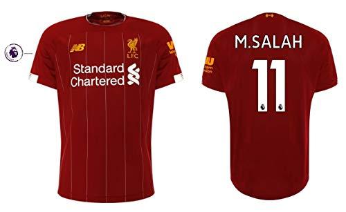 FC Liverpool Trikot Herren 2019-2020 Home PL - M. Salah 11 (XXL)