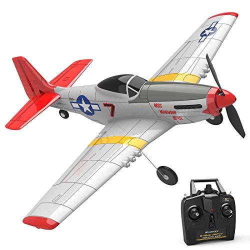 Gettesy Segelflugzeug Ferngesteuert, 2.4Ghz 4CH RC Flugzeug Spielzeug mit Xpilot Gyroskop für Anfänger,...
