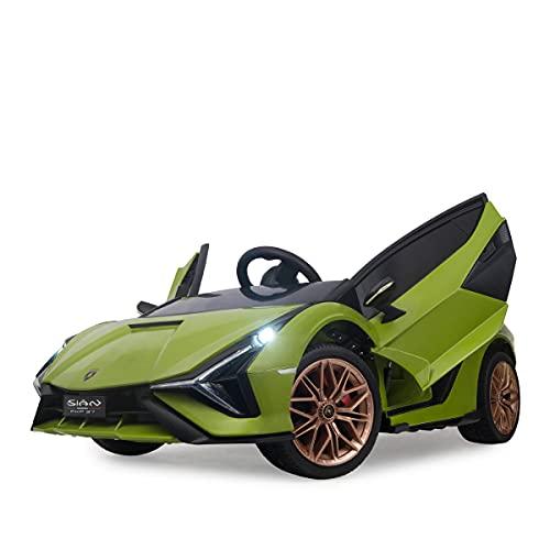 Kinder Elektroauto Sián 12 Volt, 2 x 30 Watt Motor, MP3, Bluetooth, Kinderauto, Kinderfahrzeug, Kinder Auto,...