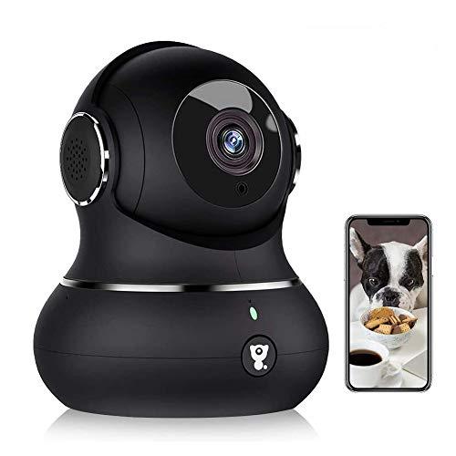1080P Überwachungskamera, Littlelf WLAN Kamera mit Bewegungserkennung, Nachtsicht, Zwei-Wege-Audio, Haustier...