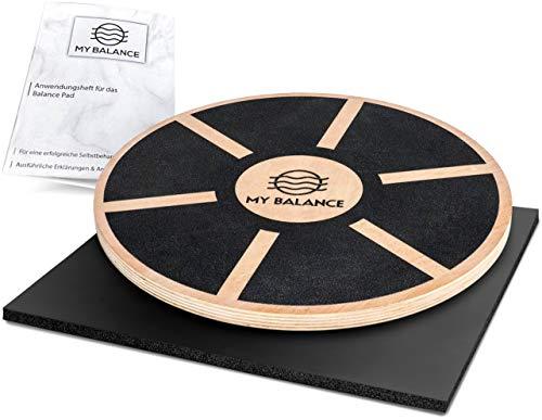 My Balance® Balance Board + GRATIS Anwendungsheft 24seitig   Wackelbrett für Fitness und Physiotherapie zur...