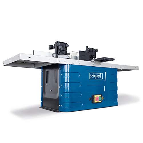 Scheppach Fräsmaschine HF50 (1500 Watt, 230 – 240 Volt, Spannzangen von 6,8 bis 12 mm, einstellbare...