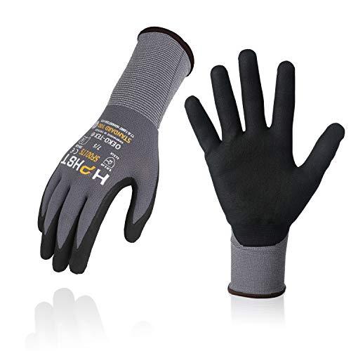 Arbeitshandschuhe - HPHST SF001TS Handschuhe 3 Paar Montagehandschuhe für Damen und Herren Gloves...