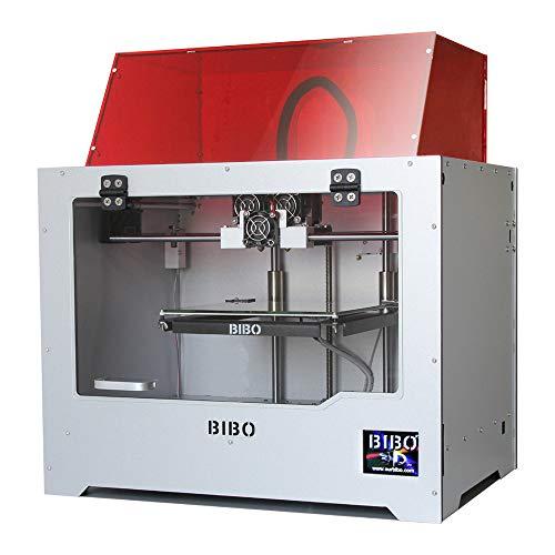 BIBO 2 3D Drucker Mit Gravurmodul Stabiler Rahmen Dual Extruder WIFI Touchscreen Schnitt Druckzeit In Halb...