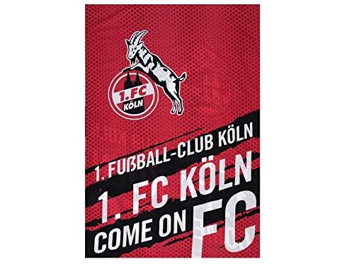 1. FC Köln Bettwäsche, Wendebettwäsche Come on FC, 4030182