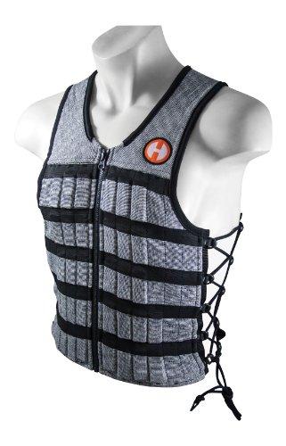 Hyperwear Hyper Vest Pro Unisex Gewichtsweste für Fitnesstraining, 4,5 kg, verstellbar, Unisex-Erwachsene,...
